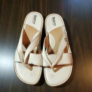 Born leather thong sandal